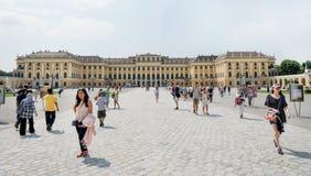 Schoenbrunn Sissi Castle - Wien Stockfotografie