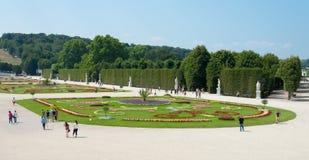 Schoenbrunn Sissi Castle - Wien Lizenzfreies Stockfoto