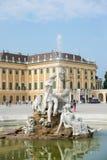 Schoenbrunn Sissi kasztel - Wiedeń Fotografia Royalty Free