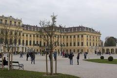 Schoenbrunn slott Arkivbilder
