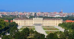 Schoenbrunn slott av Wien Royaltyfria Bilder