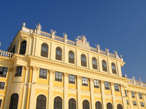 Schoenbrunn in Vienna Stock Photo