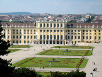 Schoenbrunn, Vienna Royalty Free Stock Photo