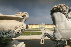 Schoenbrunn, Vienna Stock Photo