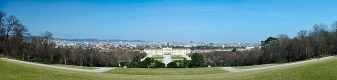 Schoenbrunn in Vienna ,Austria Royalty Free Stock Photos
