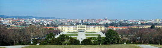 Schoenbrunn in Vienna ,Austria stock photos