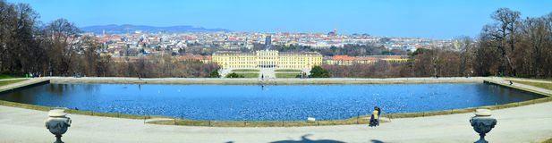 Schoenbrunn in Vienna ,Austria Stock Photo