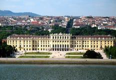 Schoenbrunn, Wenen Royalty-vrije Stock Foto's