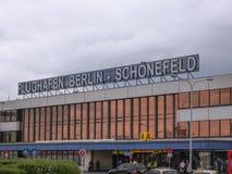 Schoenefeld lotnisko Berlin obrazy royalty free