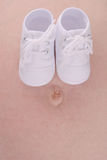 Schoenen 2 van de baby Stock Afbeelding