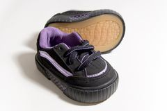 Schoenen 2 van de baby royalty-vrije stock foto's