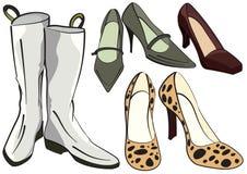Schoenen royalty-vrije illustratie