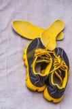 Schoenen in de zon te drogen Royalty-vrije Stock Fotografie