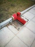 Schoenen die apparaten niet elektrische op zwaar werk berekend schoonmaken stock afbeelding