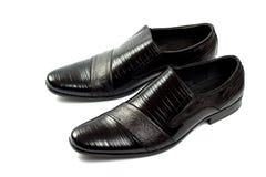 Schoenen die op het wit worden geïsoleerdf Stock Foto