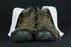 Schoenen en sokken Stock Foto's