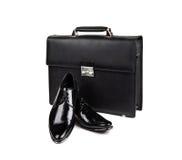 Schoenen en zak-18 Stock Afbeelding