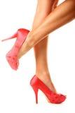 Schoenen met open neus royalty-vrije stock afbeeldingen