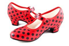 Schoenen om te dansen stock afbeelding
