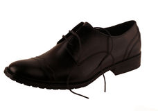 Schoenen op een witte achtergrond Stock Foto's