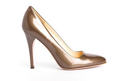 Schoenen op hoge hiel royalty-vrije stock afbeelding