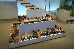 Schoenen op vertoning Royalty-vrije Stock Fotografie