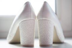 Schoenen van de bruid Royalty-vrije Stock Afbeelding