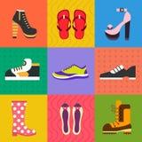 Schoenen voor alle gelegenheden vector illustratie