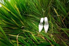 Schoenen - voor een huwelijk Stock Afbeeldingen