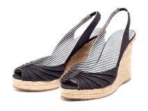 Schoenen voor hoge hielen stock foto