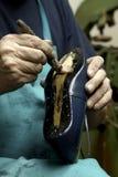 Schoenmaker. Stock Afbeeldingen
