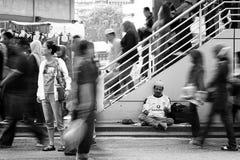 Schoenmaker bij straat Stock Fotografie