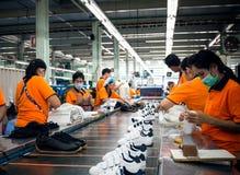 Schoenmaker (zie me werkend) Royalty-vrije Stock Foto