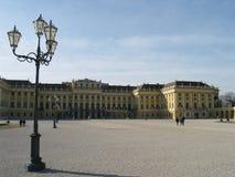 Schoennbrunn, Viena, Austria fotografía de archivo