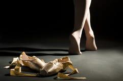 Schoes di balletto Fotografia Stock