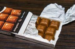 Schogetten chocolate Stock Images