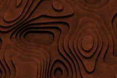 Schokolade bereifter Kuchen-Auszugs-Hintergrund lizenzfreie abbildung