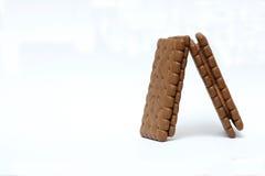 Schokolade Biscults lizenzfreie stockfotografie