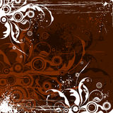 Schokolade blüht Hintergrund Stockbild