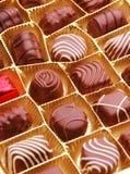 Schokolade Bon Bons Stockfotos