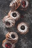 Schokolade Bundt-Kuchen Lizenzfreies Stockbild