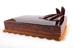 Schokolade Cack Lizenzfreie Stockbilder