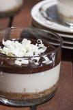 Schokolade Cheescake Stockfotos