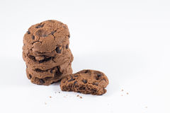 Schokolade Chip Cookie Lizenzfreies Stockfoto