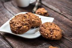 Schokolade Chip Cookies Lizenzfreie Stockfotos