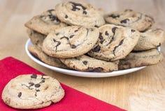 Schokolade Chip Cookies Stockbild