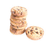 Schokolade Chip Cookies Lizenzfreies Stockfoto