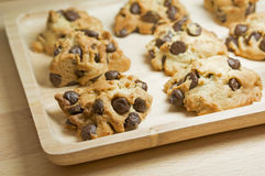 Schokolade Chip Cookies Stockfotografie