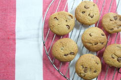 Schokolade Chip Cookies Lizenzfreies Stockbild