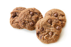 Schokolade-Chip Plätzchen Lizenzfreie Stockfotos